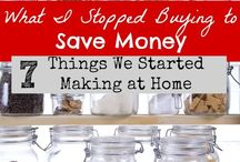 Money Saving (and Making) Reveries / Tips for saving money on groceries, vacations, and every day expenses. Plus good ways to make money at home.