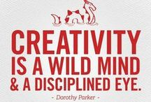 Quotes For the Creative Life / Inspiration and Quotes by and for Artists and Creatives.