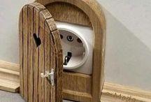 Cool, Creative & Kid Friendly Home Ideas / Beautiful, Quirky, Magical & Wonderful ideas for kid friendly homes!