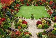 Gardens / Garden inspiration. Outdoor gardens and indoor gardens.
