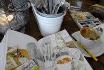 Sketchbook / Sketches made on location or as a note along the journey / by Atita D. Indarty