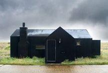 architectuur / Woningen architectuur en details Houses architecture and building details
