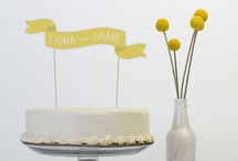 Cake banners