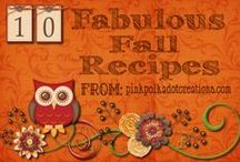 Recipes - Fall/Winter Fav's / Pumpkin Etc.