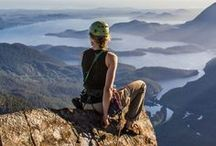 rock climbing / inspiration for getting outside