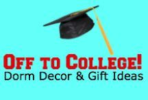 Off To College! / Dorm Decor & Gift Ideas! / by KarmaKiss.net