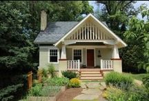 Architecture: Craftsman and Bungalow houses / by Arielle Jean