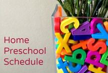 Preschool / I'll be homeschooling our twins in the fall and I need all the help I can get!  / by Steph Almasy