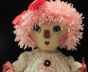 ~♥~SympleTymes Cloth Dolls~♥~ / For the past 20 plus years I have created cloth dolls, I have a real passion for Vintage, Folk Art,Reminiscent YesterYear Cloth Dolls,Raggedys, Prim,Whimsy,Halloween Year round!