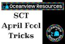 April Fools Tricks / If you are game to try these with your students!!