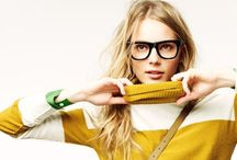 my style // bespectacled / | gorgeous glasses, geek eyewear, nerdy frames + chunky chains | / by Sophie Kate | Pinlovin' Blog