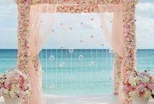 Beach Wedding Pinspo / There's nothing more coveted than a beach wedding! Here's some of our favorites gowns and other pins for the beach!