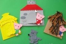 Fairytale Art and Craft / Art craft and science activities based on the theme of fairytales. Design and technology ideas too