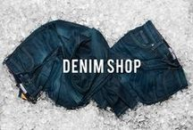 PZ Denim Shop / Who doesn't like denim? It's a classic staple needed in every wardrobe. Find your fade for any denim look at www.pointzero.ca / by Point Zero