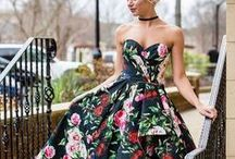 FLORALS make the world go 'round! / Because it's not going out of style any time soon...all things floral for prom, homecoming, pageants, etc!