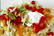 Try these Recipes - Main Dishes / by Pam Smith