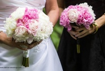Pink Bouquets / Pink Bride and Bridesmaids Bouquets