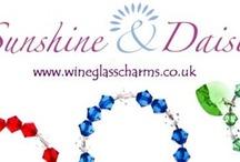 Sunshine & Daisies / Online retailer of Swarovski Wine Glass Charms & Gifts....loves sparkles!!