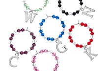 Wine Glass Charms / To complement your theme or identify your glass.....the decision is yours....