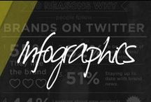 Infographics / infographics, information, information design, research, statistics, charts, flowcharts. / by Cameo Digital Lab