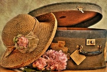 ~ Born to Travel ... / suitcase decoratives / by Rita Phillips