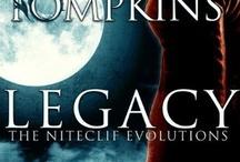 Niteclif Evolutions / Urban Fantasy Series written as Denise Tompkins.