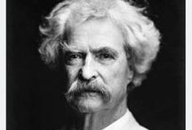 Mark Twain / To succeed in life, you need two things: ignorance and confidence.        ~ Mark Twain / by Kris C.