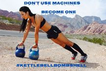 Words to live by / by Kettlebell Bombshell