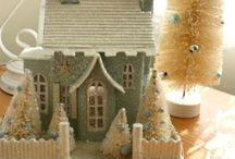 ~ Christmas Putz ... / by Rita Phillips