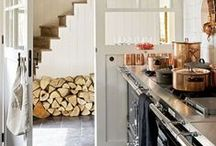 Into the Wilderness / Cabin styling and interior design revolving around a gorgeous view and rustic decor.