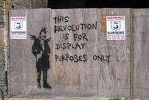 Banksy / by Kris C.