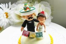 Multicultural Cake Toppers {Ethnic CakeToppers} / by mochabride