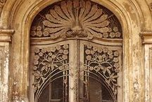 doors and other architectural details / architectural elements including doors, relief sculpture on buildings and more