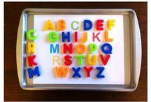 Tot School • Games • Activities • Crafts / Educational games and activities for pee wee's.