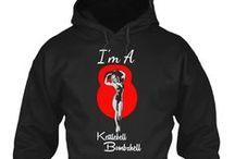Kettlebell Bombshell Fitness Apparel / Kettlebell Apparel For Women