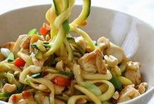 Inspiralize! / Veggie noodle dishes