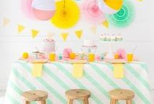 PARTY IDEAS AND DIY