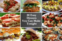 Dinner and Lunch Recipes / If you are looking for easy dinners or tasty lunches, this is the perfect Pinterest Board to find them!