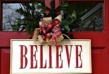 I love Christmas / by Stephanie Thompson