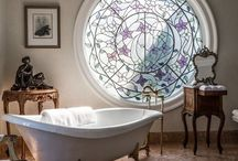 Beautiful Bathrooms / So many great ideas for the powder room.