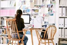 SPACES-#OFFICE #INTERIORS / INSPIRING SPACES TO WORK IN