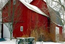I Love Barns / I get excited when I am out road tripping and find great barns, especially abandoned ones. Cool!!!