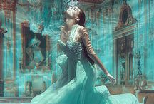 Turquoise/Aqua / Don't yah just love these colors, so gorgeous.