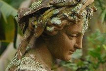 Stone Angels / Oh how I love cemetary and stone angels, so beautiful.