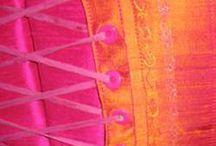 Fuschia & Orange Love / My favourite colors. Yum!!!!