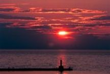 Million Dollar Sunsets  / You have not truly experienced Michigan until you have witnessed one of these. Northern Michigan is well known for its Million Dollar Sunsets over the beautiful area lakes and landscapes.