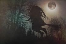 Witchy, creepy & mysterious / Some things that in the darkness wait for us...