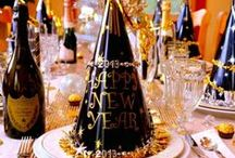 New Year's Eve / The perfect party food and decor for a lovely New Year's Eve celebration.