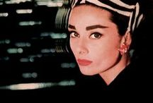 Audrey Hepburn and other iconic beauties