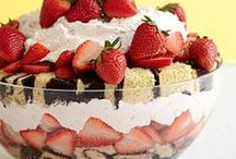 Strawberry Recipes / There is nothing like the perfect strawberry recipe to make your day. Whether you love strawberry smoothies, strawberry cookies or strawberry cake (just to name a few), you are guaranteed to find something amazing here.